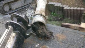 Oude riolering vervangen-04